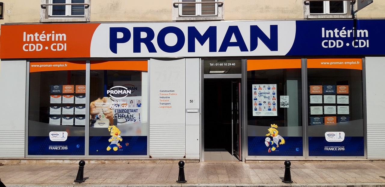 Proman Intérim Palaiseau