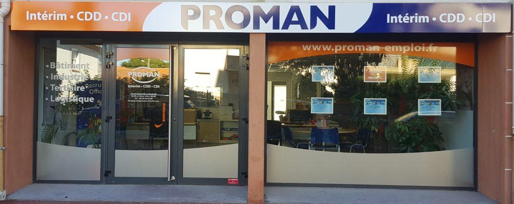 Proman intérim Draguignan