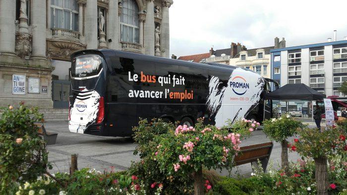Le bus de l'emploi à calais