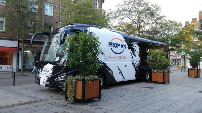 Le bus de l'emploi à Valenciennes