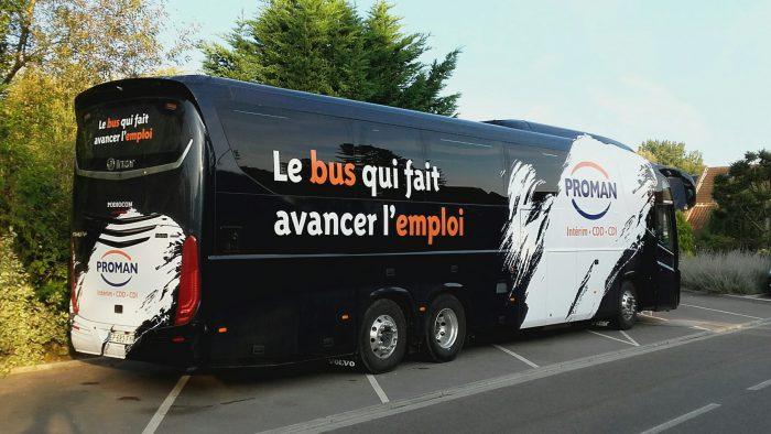 Le bus à Boves