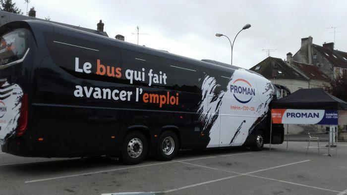 Le bus PROMAN qui fait avancer l'emploi à Crépy-en-Valois