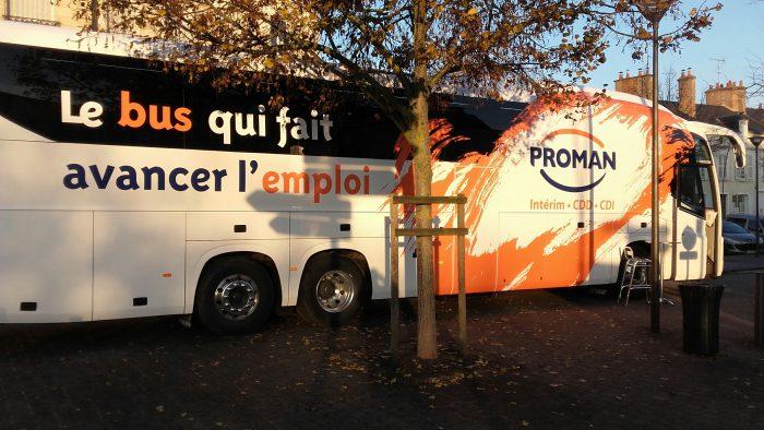 Le bus Proman à Pithiviers