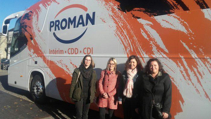 Le Bus qui fait avancer l'emploi à Pithiviers