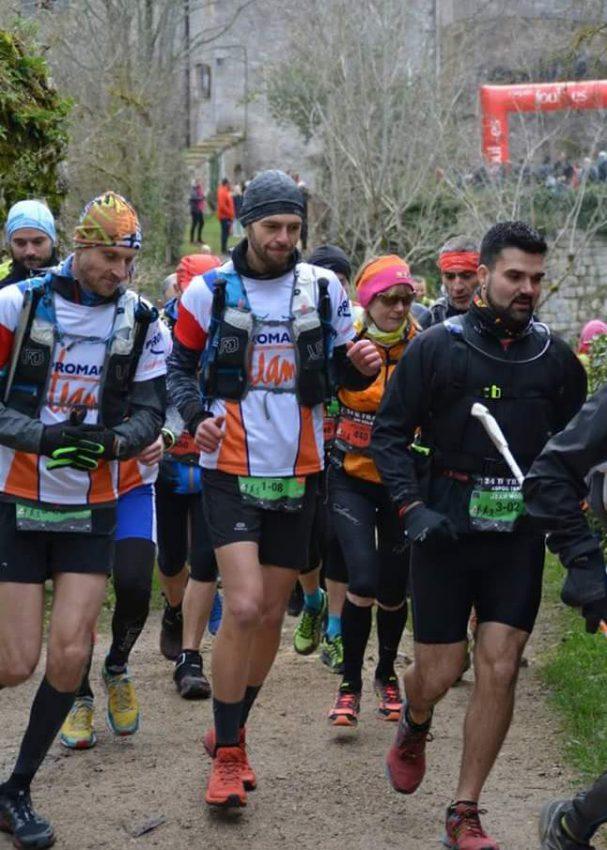 Pierre Alain trail de Bruniquel