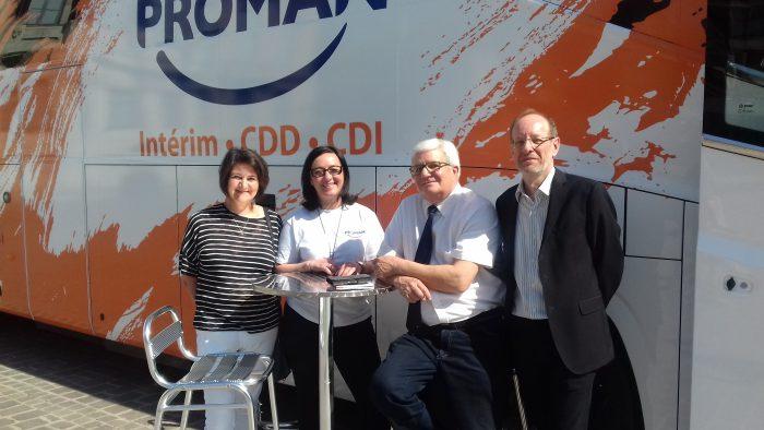 Proman Bus à Troyes avec les Elus