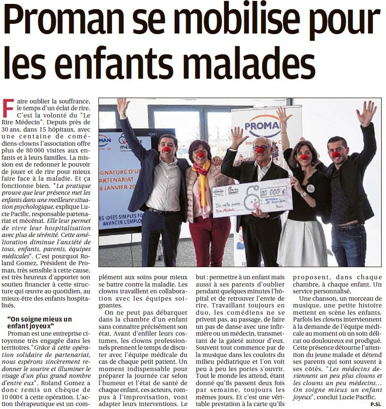 Proman & Le Rire Médecin