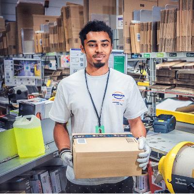 Proman recrute pour Amazon Lyon