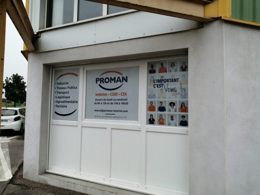 Proman interim Vesoul